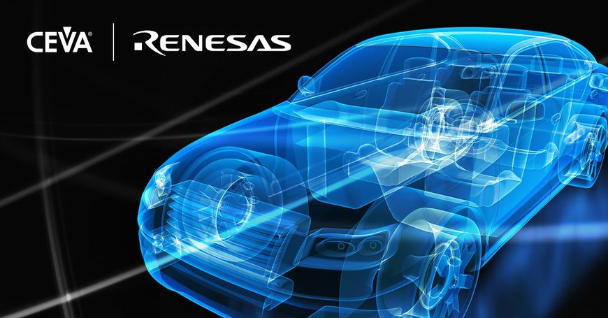 CEVA's High-Performance DSP Solution to Power Renesas' Next-Generation Automotive SoC