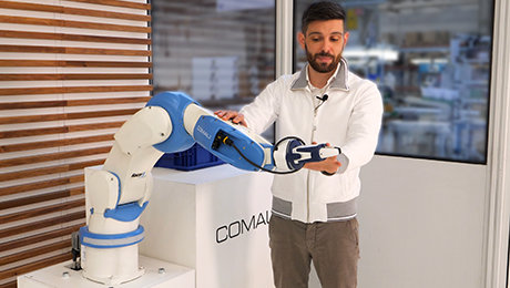 COMAU'S NEW RACER-5 COBOT DELIVERS HIGH-PERFORMANCE COLLABORATIVE ROBOTICS AT INDUSTRIAL SPEED